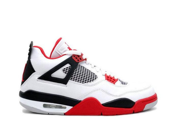 Air Jordan 4 Fire Red 308497-160