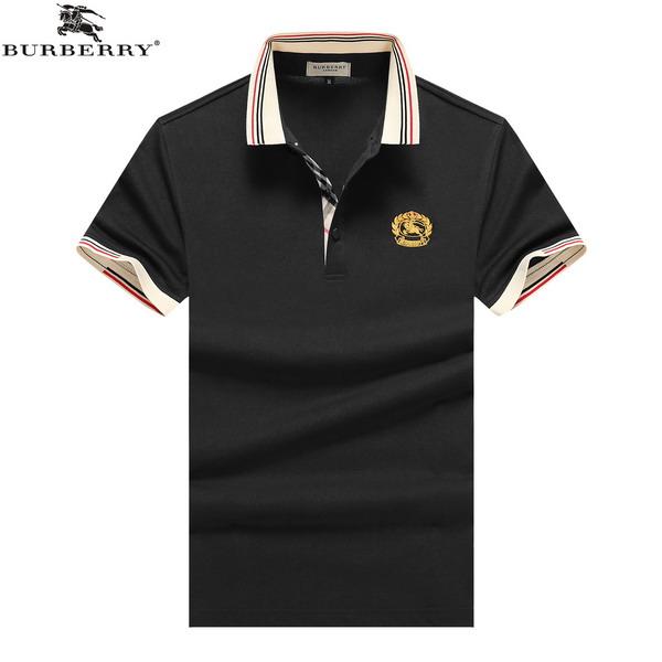 Wholesale Cheap Burberry Short Sleeve Lapel T-Shirts for Sale