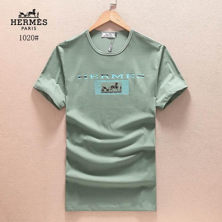 Wholesale Cheap Hermes Short Sleeve men's T Shirts for Sale-097
