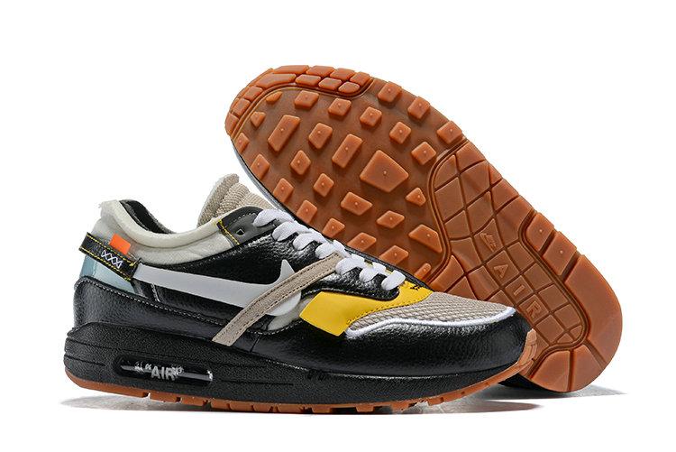 Off White x Nike Air Max 1 Black
