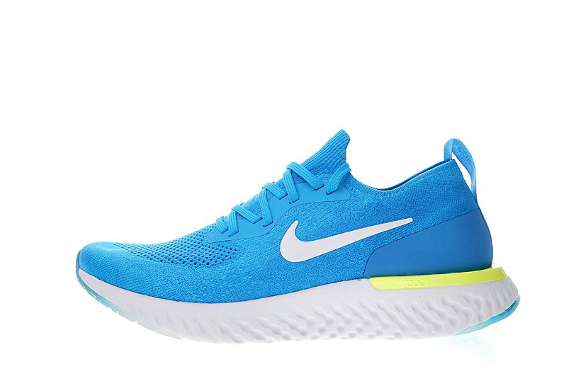 Nike Epic React Flyknit Blue Glow AQ0067-401