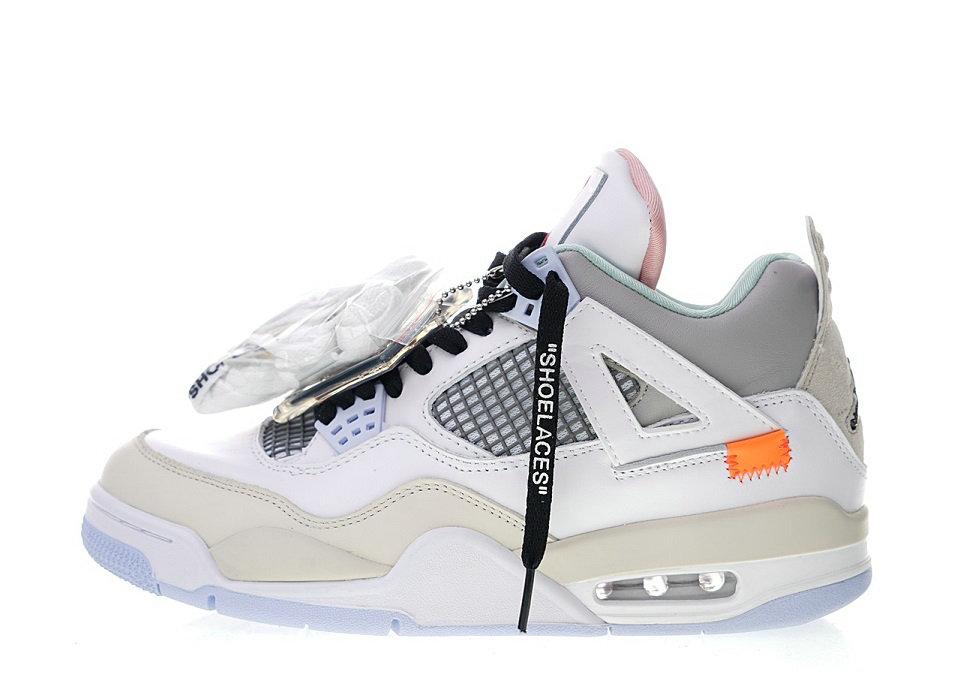 OFF-WHITE x Air Jordan 4 ow 930115-001