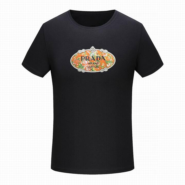 Wholesale Men Prada Short Sleeve t Shirts for Sale-181