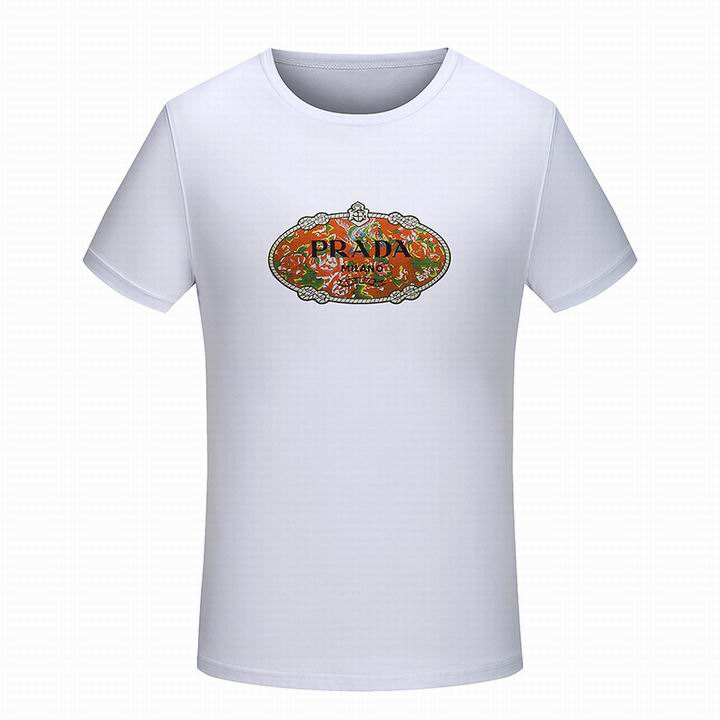 Wholesale Men Prada Short Sleeve t Shirts for Sale-182