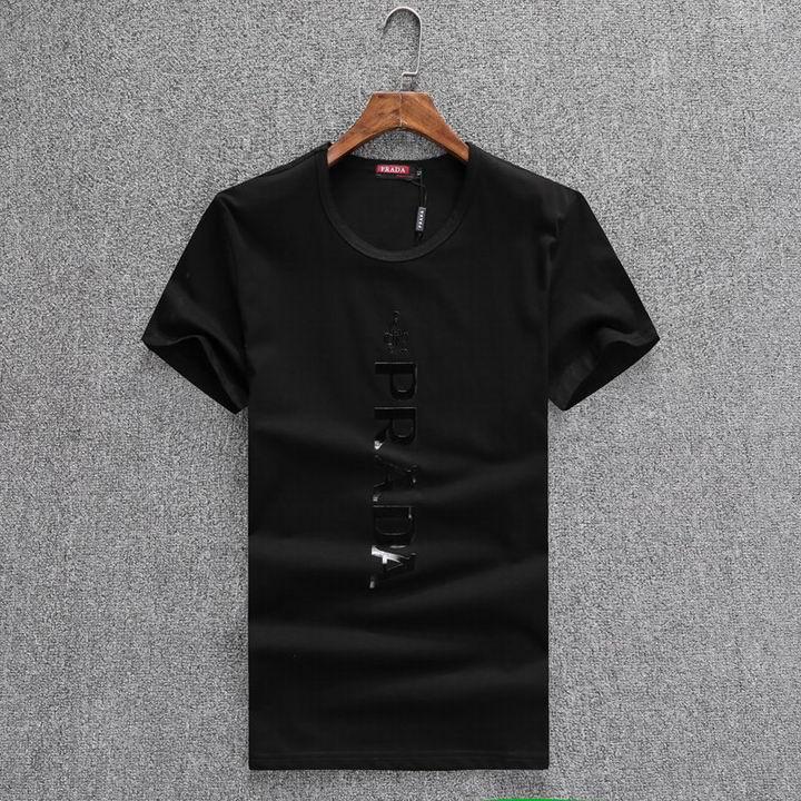 Wholesale Men Prada Short Sleeve t Shirts for Sale-167