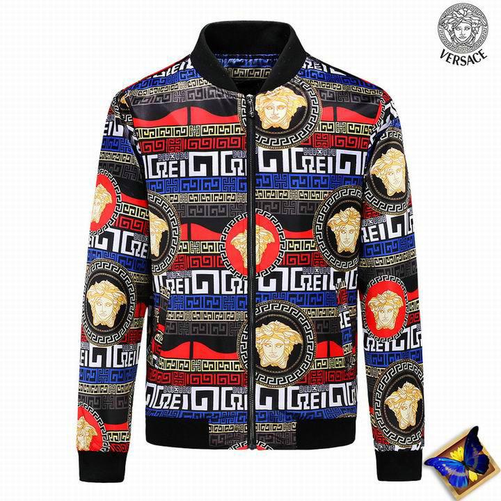 Wholesale Mens Versace Jacket Replica for Sale
