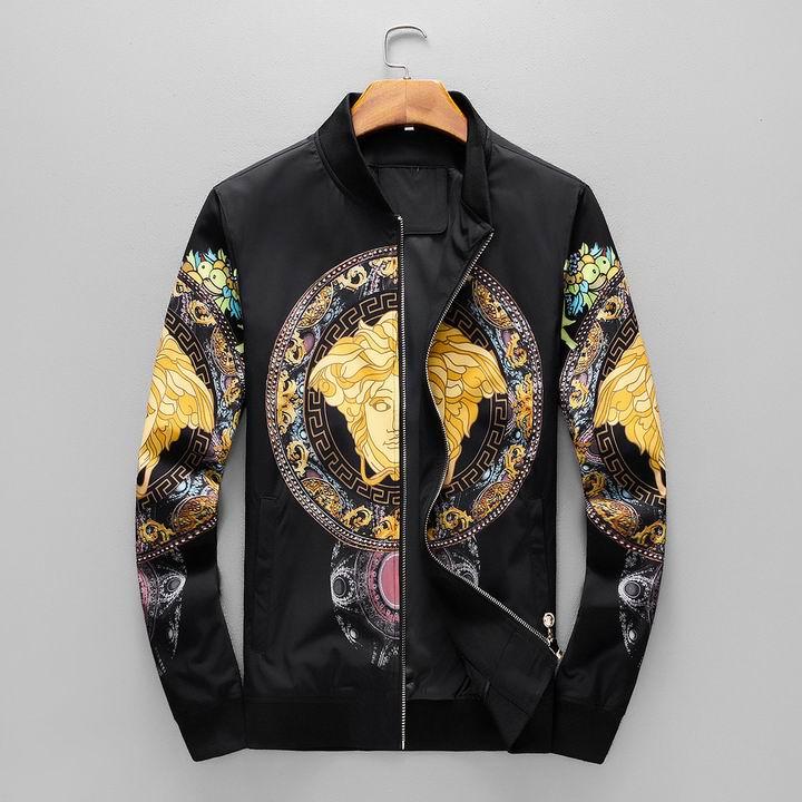 Wholesale Fashion Mens Versace Replica Jacket for Sale