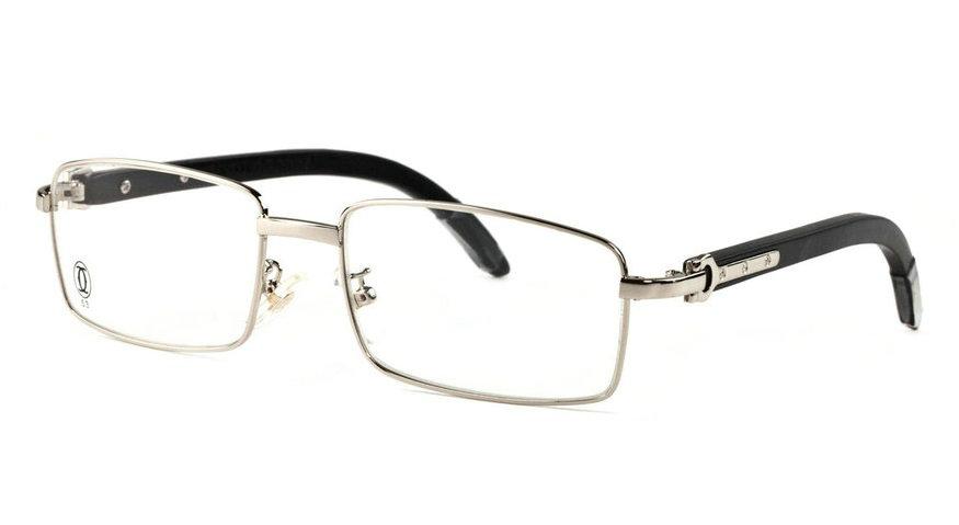Wholesale Cheap Fake Cartier Wooden Eyeglass Frames for Sale-187