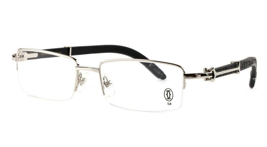 Wholesale Cheap Fake Cartier Wooden Eyeglass Frames for Sale-190