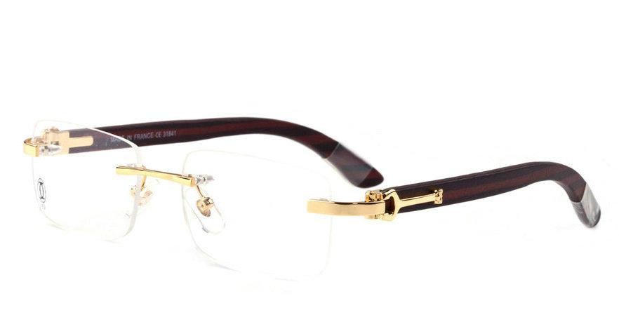 Wholesale Cheap Cartier Replica Eyeglass Frames for Sale-208