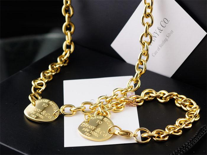 Wholesale Fashion Replica Tiffany & Co Jewelry sets for Women-263