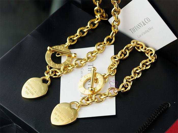 Wholesale Fashion Replica Tiffany & Co Jewelry sets for Women-268