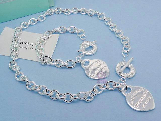 Wholesale Fashion Replica Tiffany & Co Jewelry sets for Women-272