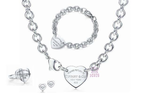 Wholesale Fashion Replica Tiffany & Co Jewelry sets for Women-274