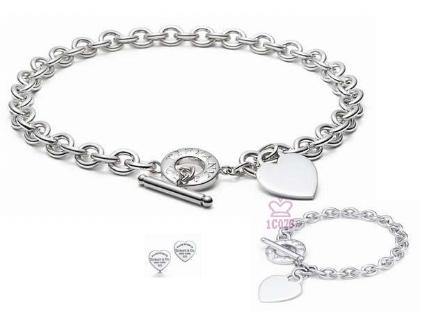 Wholesale Fashion Replica Tiffany & Co Jewelry sets for Women-279