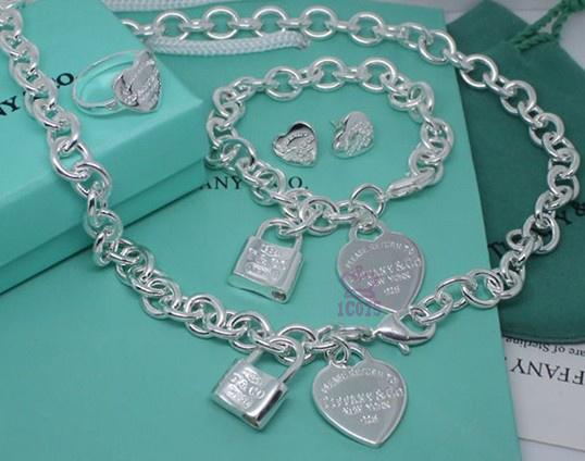 Wholesale Fashion Replica Tiffany & Co Jewelry sets for Women-280