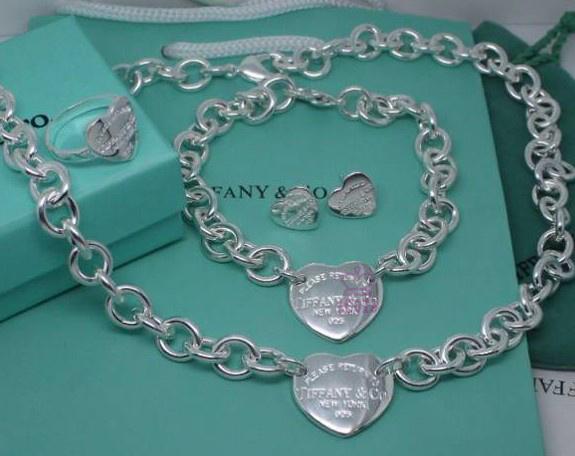 Wholesale Fashion Replica Tiffany & Co Jewelry sets for Women-281