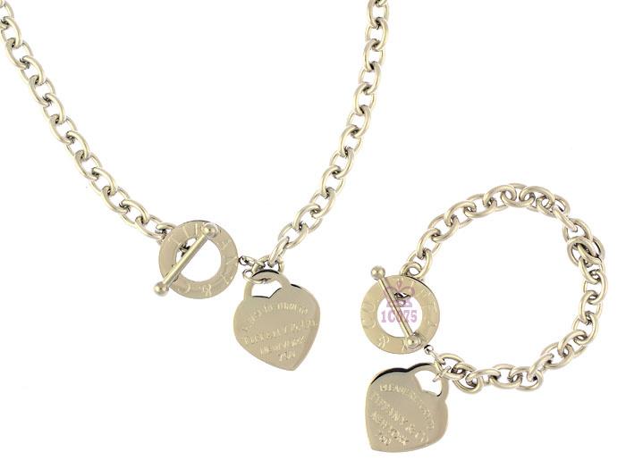 Wholesale Fashion Replica Tiffany & Co Jewelry sets for Women-284