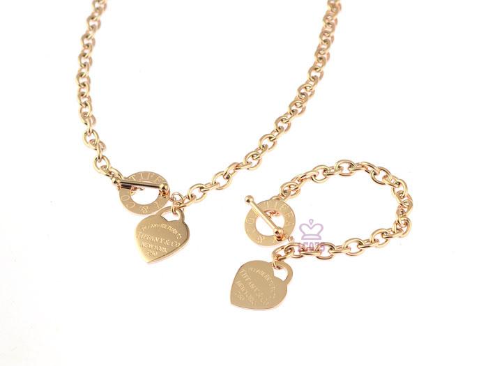 Wholesale Fashion Replica Tiffany & Co Jewelry sets for Women-285