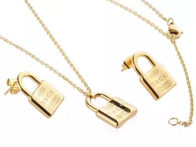 Wholesale Fashion Replica Tiffany & Co Jewelry sets for Women-286