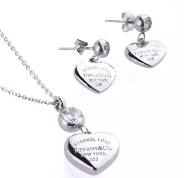 Wholesale Fashion Replica Tiffany & Co Jewelry sets for Women-290