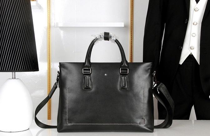 Wholesale Mont Blanc Replica Designer Mens Briefcases-019