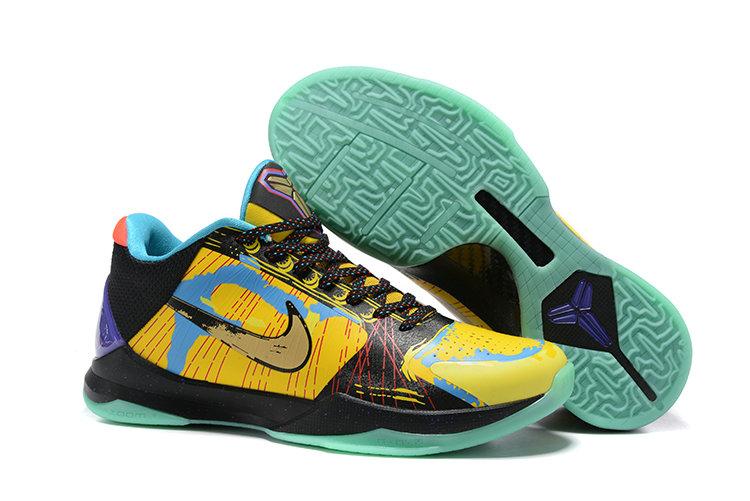 Wholesale Kobe 5 Men's Basketball Shoes for Sale-005