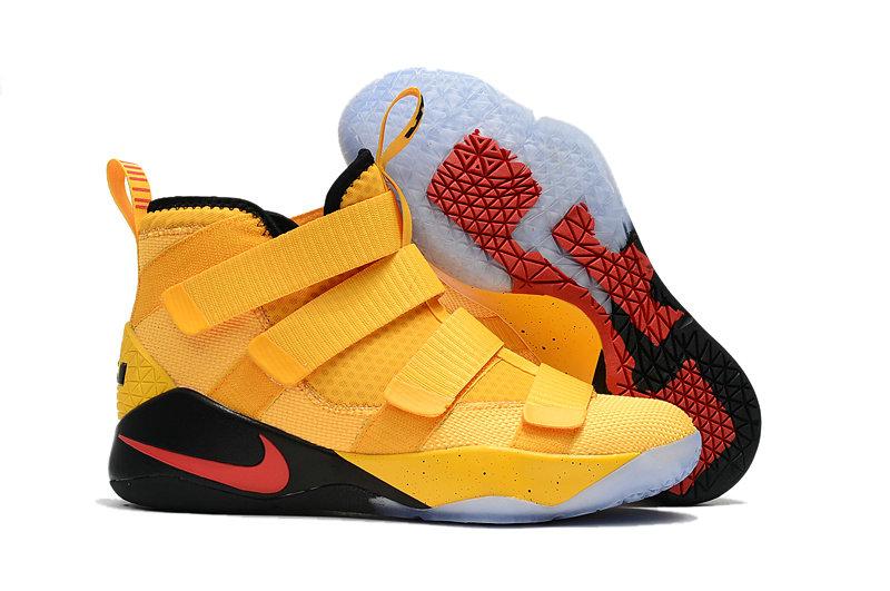 Wholesale Nike Replica LeBron Soldier XI Men's Shoes For Cheap-062