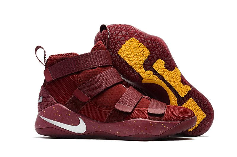 Wholesale Nike Replica LeBron Soldier XI Men's Shoes For Cheap-064