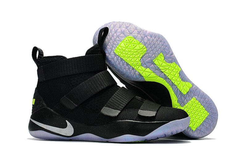 Wholesale Nike Replica LeBron Soldier XI Men's Shoes For Cheap-066