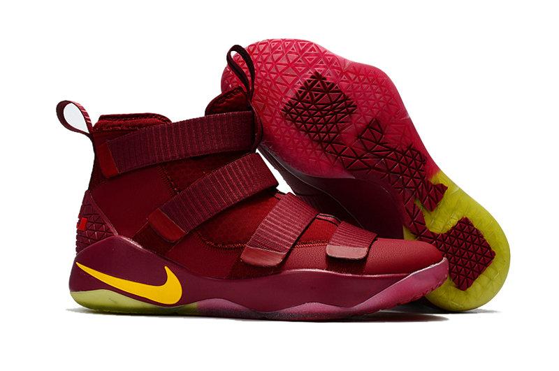 Wholesale Nike Replica LeBron Soldier XI Men's Shoes For Cheap-071