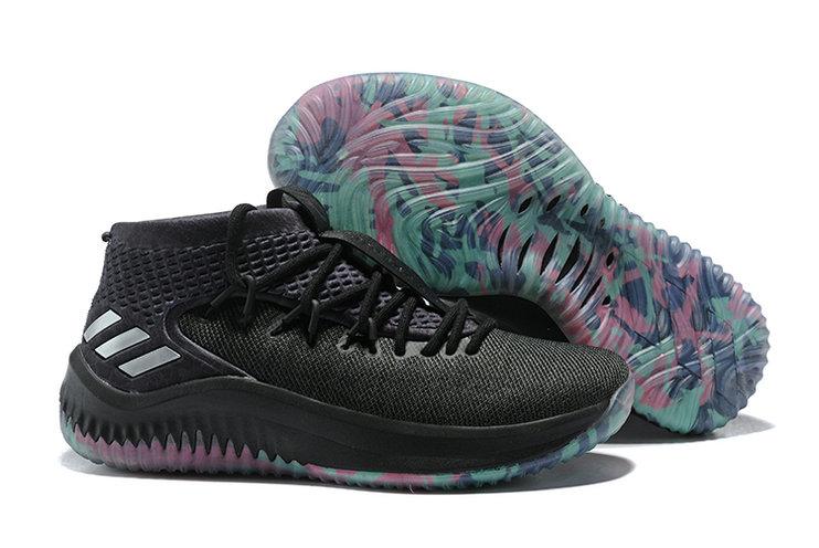 Wholesale adidas Dame 4 Men's Basketball Shoes-018