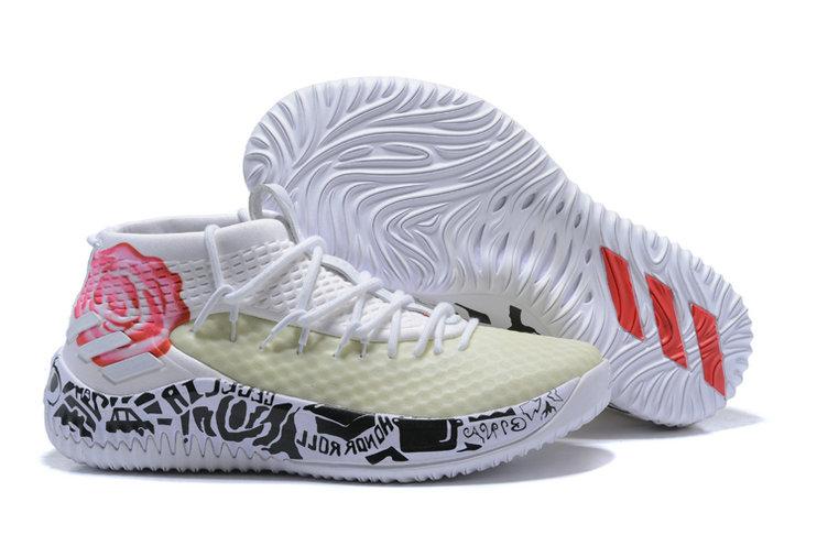 Wholesale adidas Dame 4 Men's Basketball Shoes-024